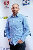NEW YORK-MAY 30: New York Knicks player Jason Kidd attends the 5th annual Tuck's Celebrity Billiards