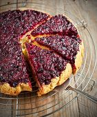 Blackcurrant Upside Down Cake