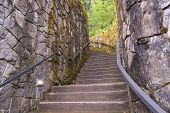 pic of klamath  - Photo of the stairs at Klamath fallsOr - JPG