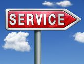 service get online help and support client or customer service button service icon red road sign arr