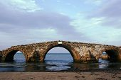 old bridge in ruins, Zakynthos island