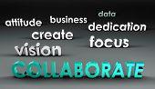 Samenwerken in de voorhoede in 3d presentatie