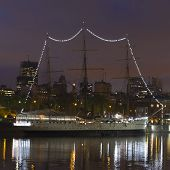 Ship By Night In Buenos Aires