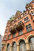 Historisches Gebäude In der Speicherstadt In Hamburg