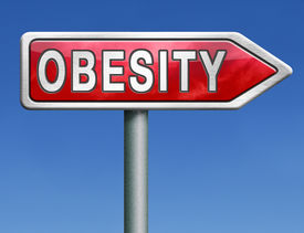 foto of obese children  - obesity obese man women child kid or children overweight and fat people risk diabetes red road sign arrow with text word concept - JPG