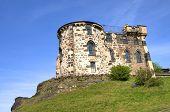 Building in the Calton Hill in Edinburgh, Scotland