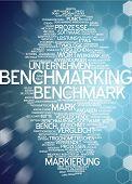 Word cloud -  benchmarking