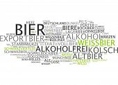 Word cloud -  beer