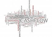 Word cloud -  cashflow