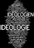 Word cloud -  ideology
