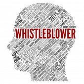 stock photo of private detective  - WHISTLEBLOWER - JPG