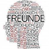 Info-Text-Grafik - Freund