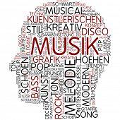 Info-Text-Grafik - Musik