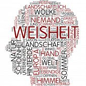 Info-Text-Grafik - Weisheit