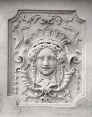 Belvedere Palace statue, Vienna, Austria.