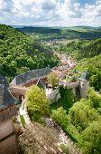 Hrad Karlstejn castle in Czech Republic