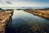 Entry To Ancient Phoenician Port Of Mahdia