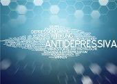 Word cloud - antidepressants