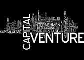 Word cloud - venture capital