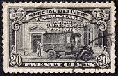 Us Post Office Stamp
