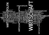 Word cloud - economy