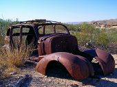 Rusty Car Frame