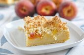 German Peach Pie