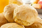 Homemade Hot Buttermilk Biscuits