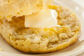 image of buttermilk  - Homemade Hot Buttermilk Biscuits to eat at Breakfast - JPG
