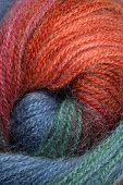 Wool yarn.