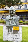 Statue To Quincy Jones, Montreux