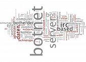 Word cloud - botnet