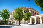 Schonbrunn Palace Garden Gloriette, Vienna, Austria