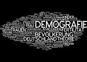 Word cloud - demography