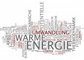 Word cloud - energy