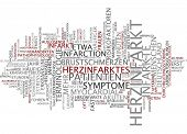 Word cloud -  Myocardial infarction