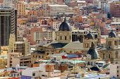 La Paz, Bolivia - general view of Cathedral
