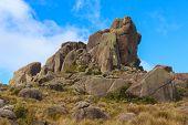 Peak Prateleiras Mountain In Itatiaia National Park, Brazil