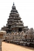 Seashore Temple, Mamallapuram, Chennai, India