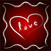 Постер, плакат: Любовь сердца