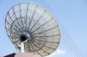 modern radio telescope - satellite dish