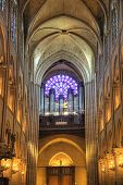 Paris. Organ At Notre Dame