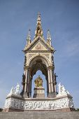 Albert Memorial in Hyde Park, London.