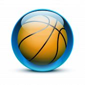 Glass icon sports themes for website or app