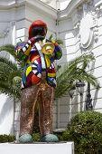 Statue Of Miles Davis In Nice