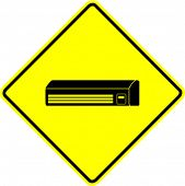 air conditioner mini split sign