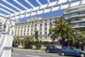 Hotel Le Royal In Nice Seen From Promenade
