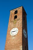 Clock Tower In Lucca, Italy