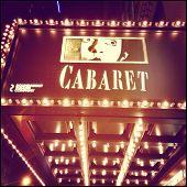 Cabaret on Broadway Sign