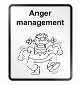 Anger Management Information Sign